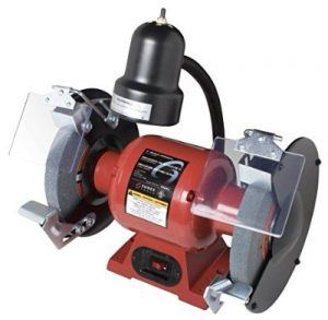 Sunex 5002A 8-Inch Bench Grinder with Light Review