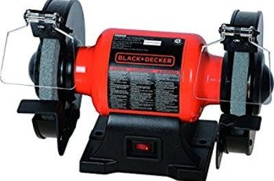 Black & Decker BG1500BD 6″ Single Speed Bench Grinder Review