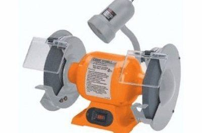 Central Machinery 8-Inch Bench Grinder with Gooseneck Lamp Review