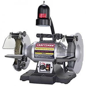 Craftsman 8-Inch ½ HP Variable Speed Bench Grinder Review
