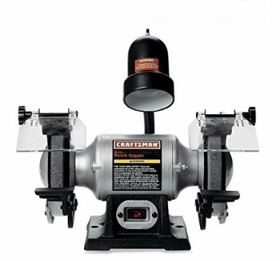 Craftsman 9-21124 1/6 Horsepower 6-Inch Bench Grinder with Lamp Review