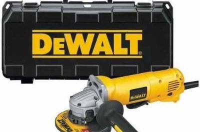DEWALT D28402K 4-1/2-Inch Small-Angle Grinder Kit Review