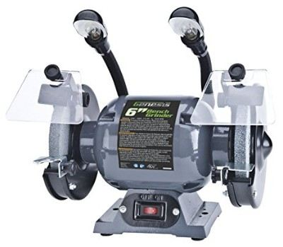Genesis GBG600L 6-Inch Bench Grinder with Dual Light Review