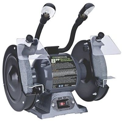 Genesis GBG800L 8-Inch Bench Grinder with Dual Light Review