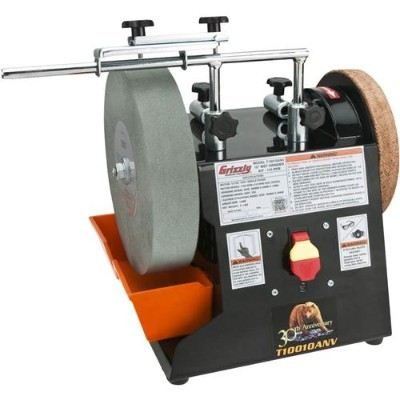 Grizzly T10010ANV 10-Inch Anniversary Edition Wet Grinder Kit Review