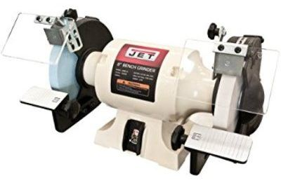 JET JWBG-8 8-Inch Bench Grinder with Norton Wheels Review
