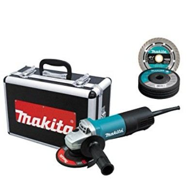 Makita 9557PBX1 4-1/2-Inch Angle Grinder with Aluminum Case Review