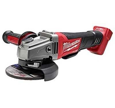 Milwaukee 2780-20 M18 Fuel 4-1/2″/5″ Pad Angle Grinder Review