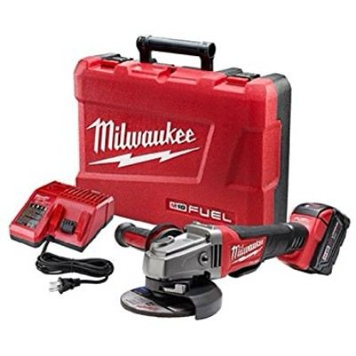 """Milwaukee 2780-21 M18 FUEL 4-1/2"""" / 5"""" Grinder, Paddle Switch No-Lock Review"""