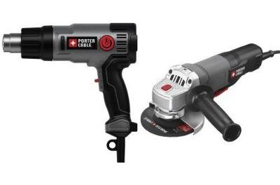 PORTER-CABLE PC1500HG 1500-Watt Heat Gun with 7-Amp 4-1/2-Inch Angle Grinder Review