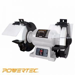 "Powertec 8"" Slow speed bench grinder BGSS801 Review"