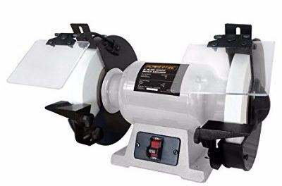 Powertec BGSS801 8″ Slow Speed Bench Grinder Review