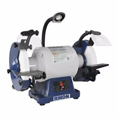 Rikon Power Tools 80-808 8-Inch 1 hp Low Speed 1725 RPM Bench Grinder Review