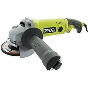 Ryobi AG454 7.5 Amp 120V AC 11,000 RPM Corded Angle Grinder w/ Rear Rotating Handle Review