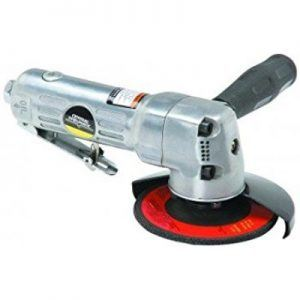 """Central Pneumatic 4"""" Air Angle Grinder Review"""
