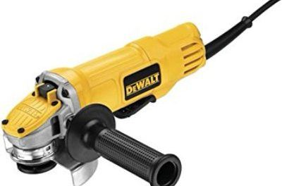 DEWALT DWE4120N 4 1/2-Inch Paddle Switch Angle Grinder with No Lock-On Review