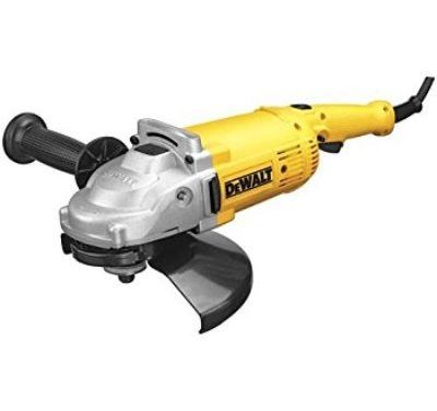 DEWALT DWE4519 9-Inch 6,500 Rpm 4 HP Angle Grinder Review