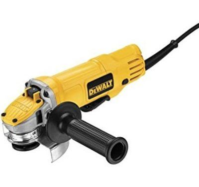 Dewalt DWE 4120 4 1/2-inch Paddle Switch Angle Grinder Review