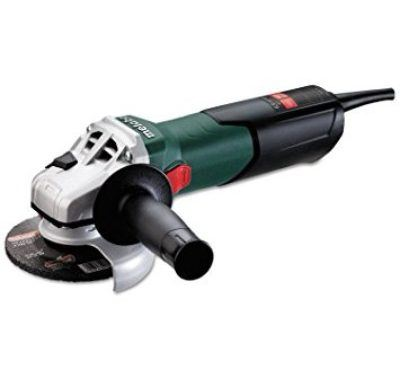 Metabo W9-115 4 ½-Inch 10,500 RPM Angle Grinder with Lock-On Sliding Switch Review